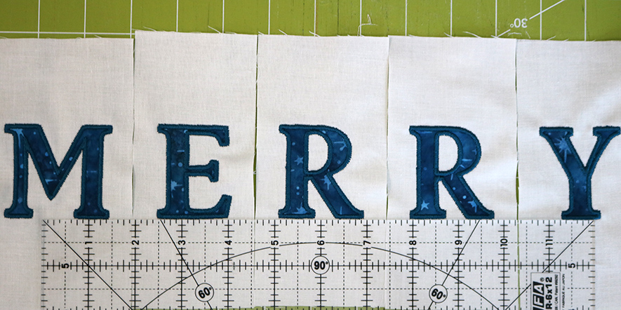 align individual letter embroidery ruler