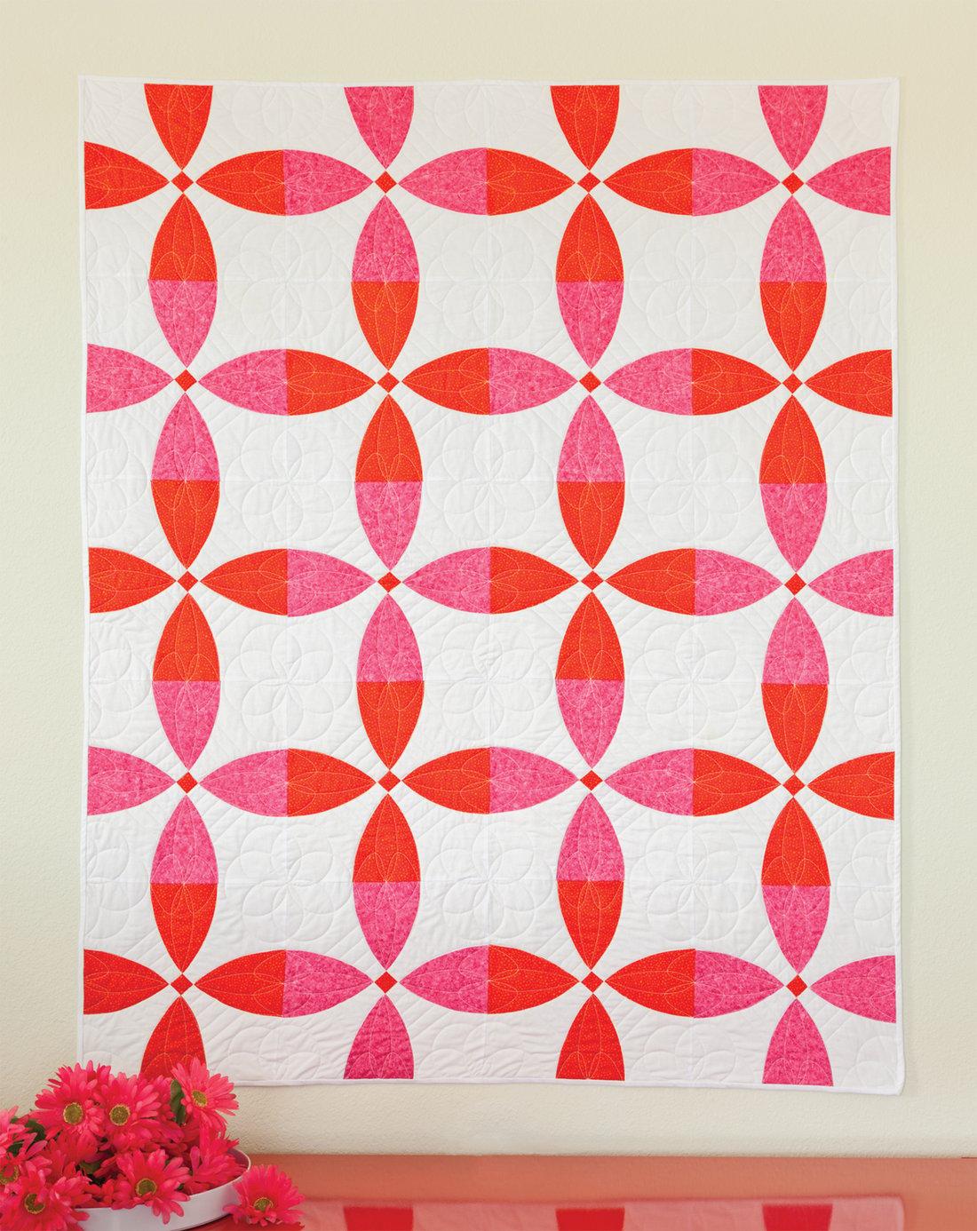 flowering snowball quilt block pattern