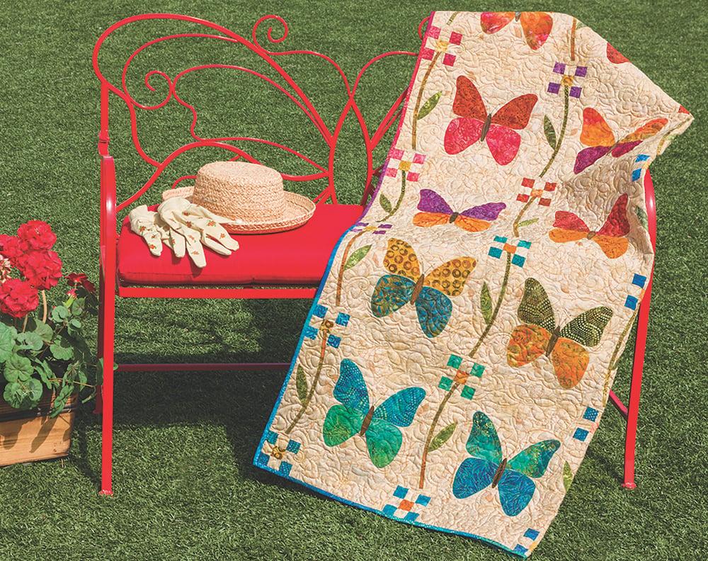 spring butterfly quilt edyta sitar pattern