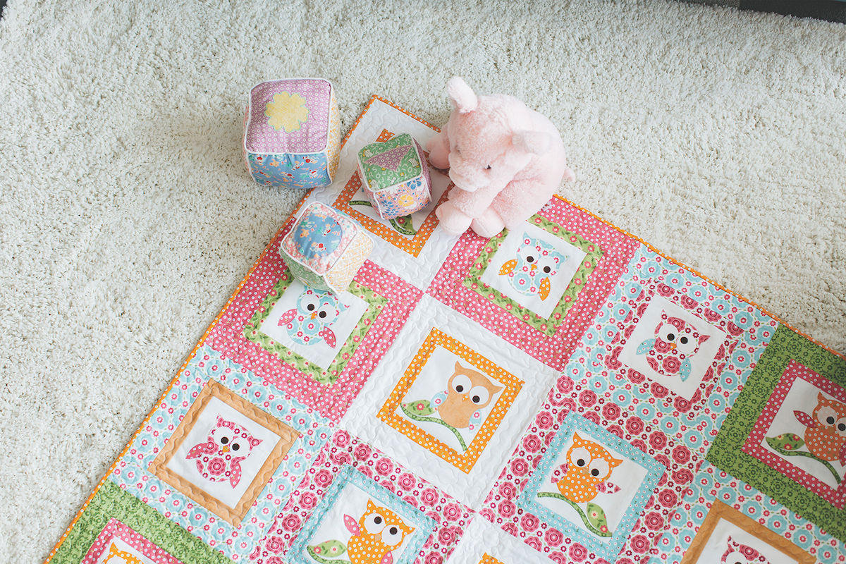 PQ10506-owl-baby-quilt-nursery-infant-toys