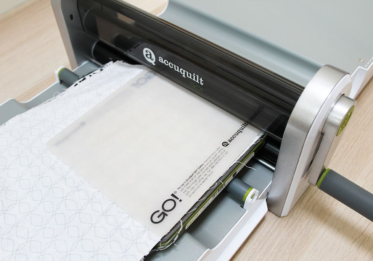 accuquilt go fabric cutter cutting fabric