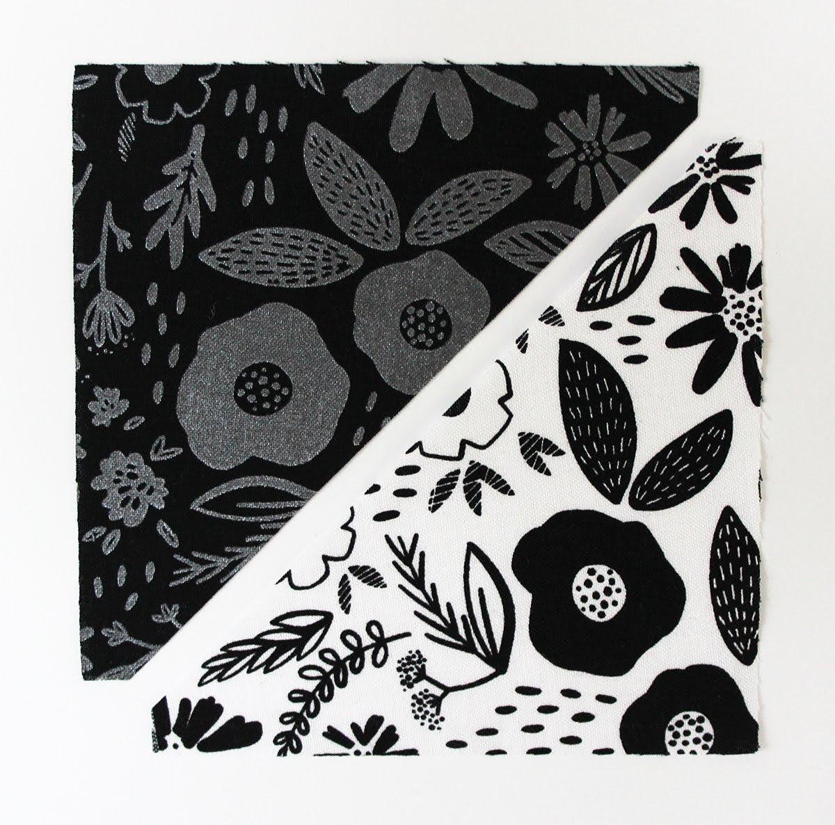 half square triangles in Juniper fabric