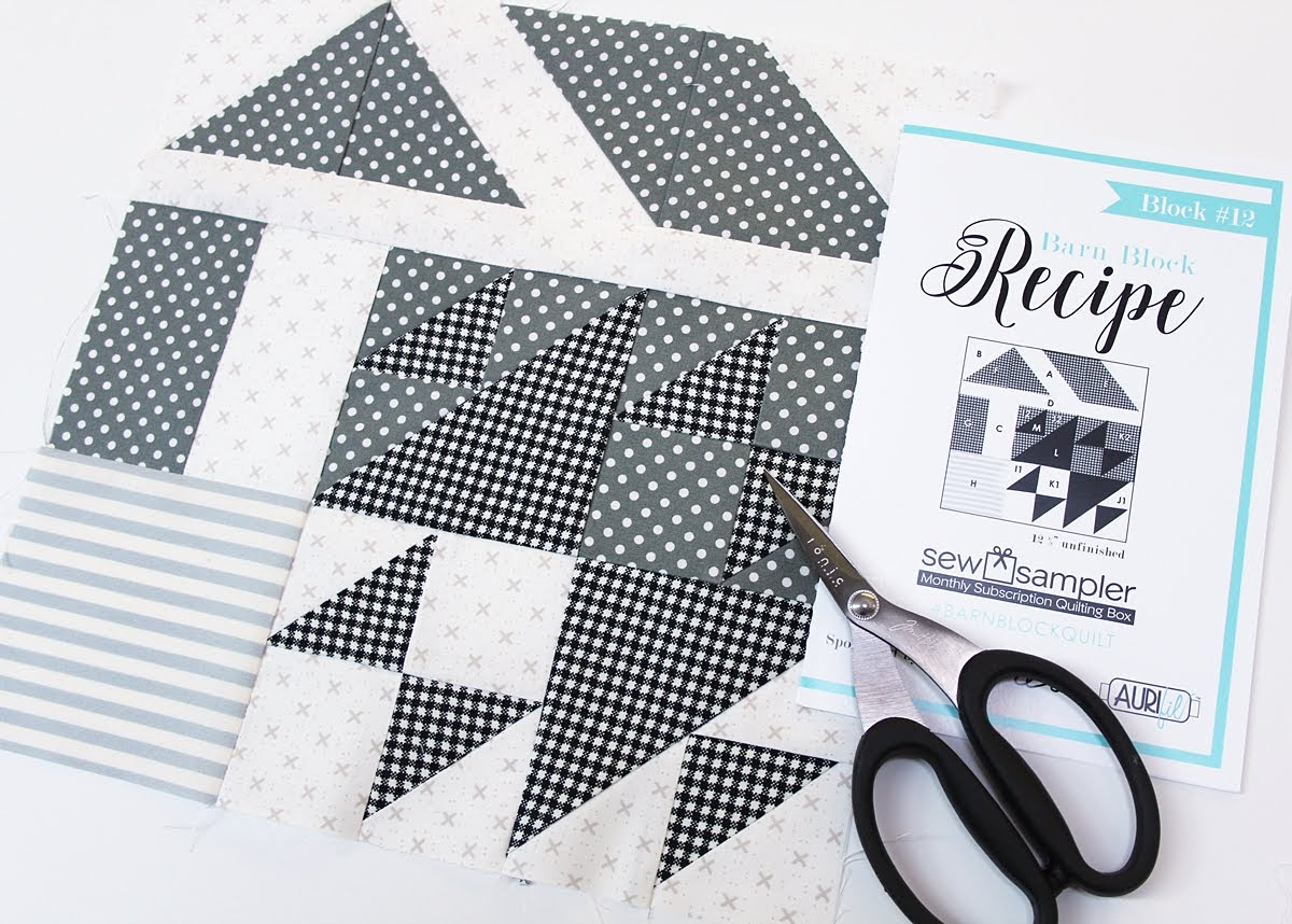 moda fabric barn block sew sampler