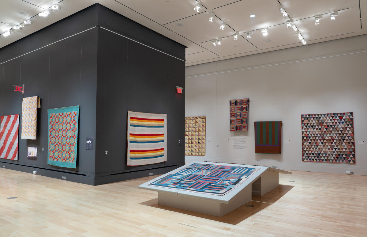2021 Abstract Exhibit at the International Quilt Museum - Photo by International Quilt Museum