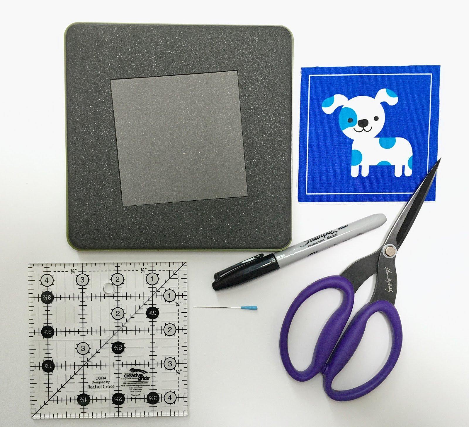 3-go square die