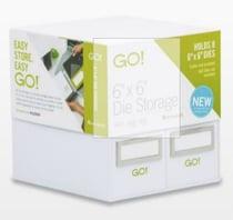 6 x 6 Die storage organizer