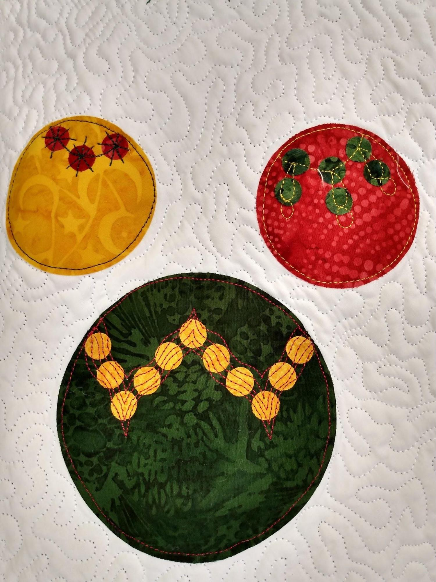 9 embroidered ornament 3