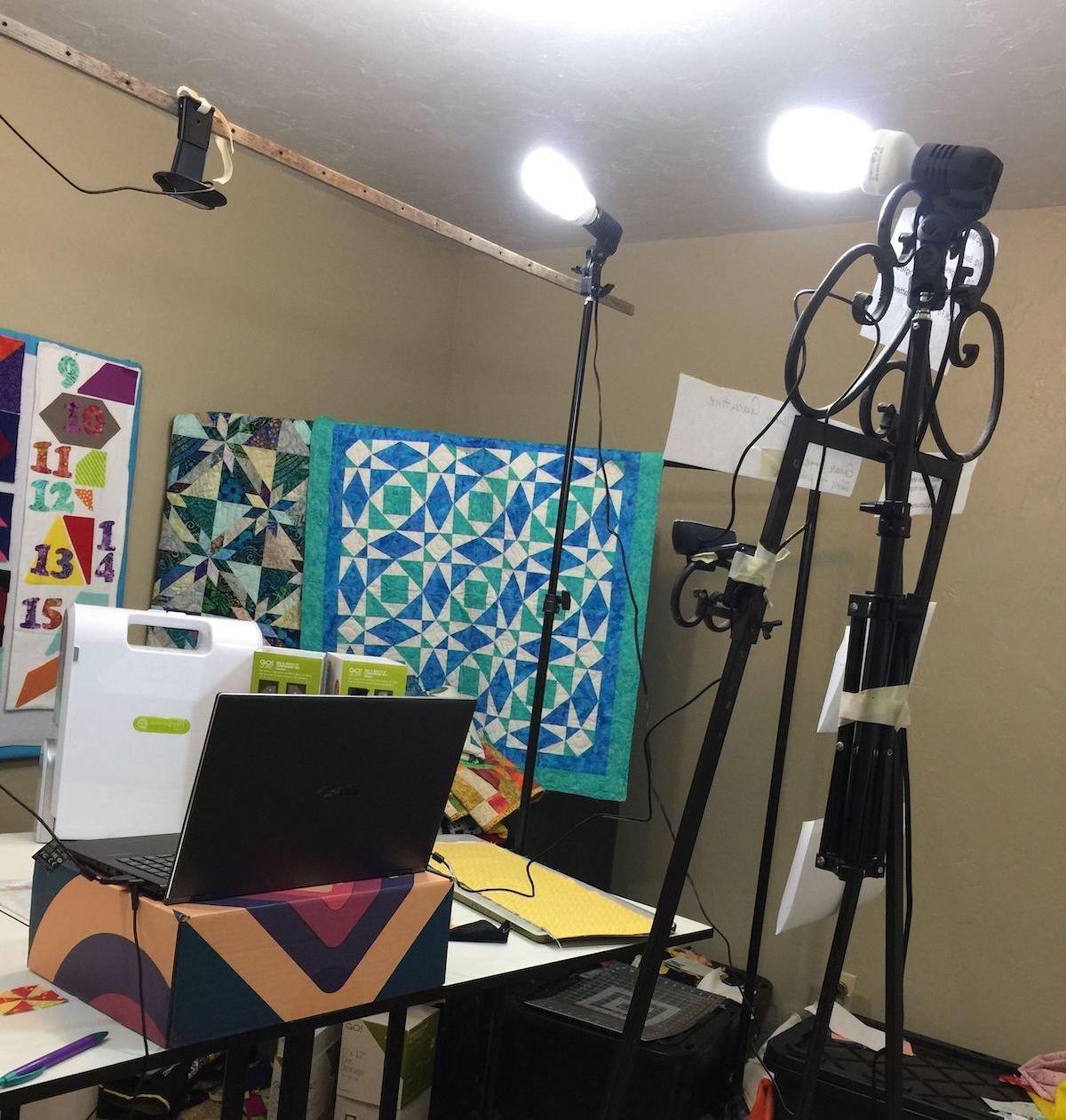 BTS-Barbara Studio with camera