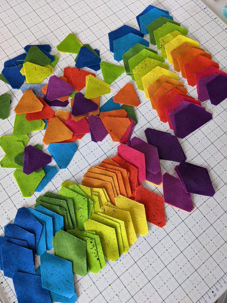 EPP Qube Fabric Pieces