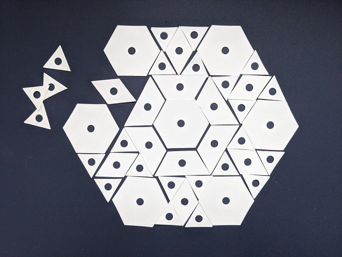 EPP Qube paper pieces