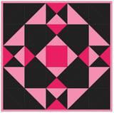 Front Door Barn Quilt PQ11846 - Pink