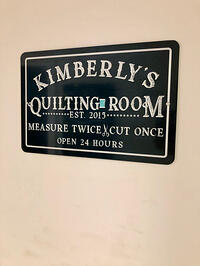 GO Getter Sewing Room-22 sign