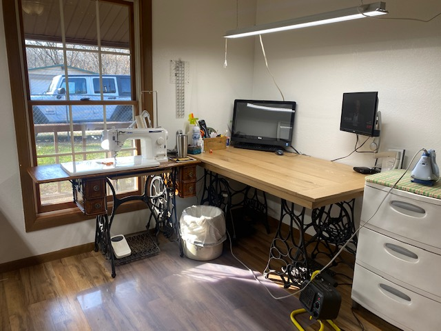 GO Getter Sewing Room-Custom Tables
