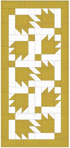 Gold-Bears Paw-Hoffman Fabrics