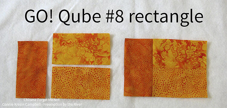 Piecing the rectangles together