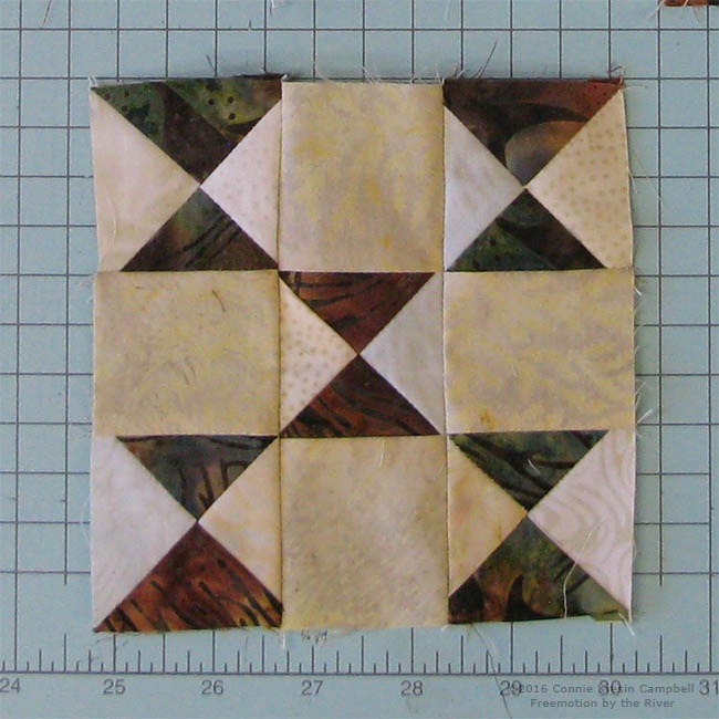 make a 9 patch block