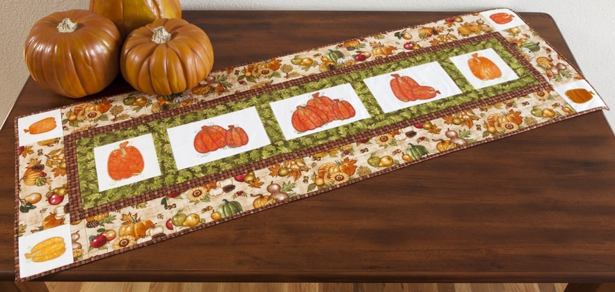 GO! Pick of the Patch Table Runner