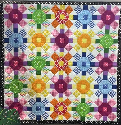 Cotton Basics Quilt_Heidi Pridemore