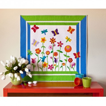 Download the GO! Butterfly Garden Quilt Pattern