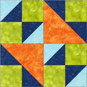 GO Double X No. 2 8 inch Block Pattern