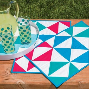 GO! Flying Diamonds Placemat Pattern
