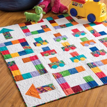 Download the GO! GO! GO! Quilt Pattern