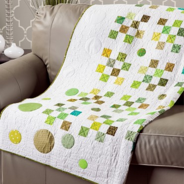 Download the GO! Green Means GO! Quilt Pattern