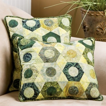 Download the GO! Hexagon Pillows Pattern