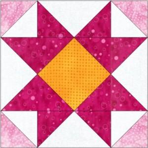 GO Mosaic No 15 8 inch Block Pattern