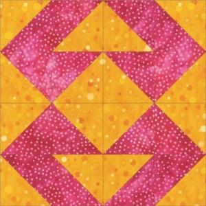 GO Mosaic No. 22 8 inch Block Pattern