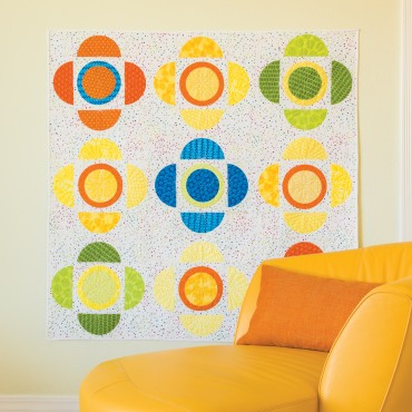 Download the GO! Quatrefoil Squared Quilt Pattern