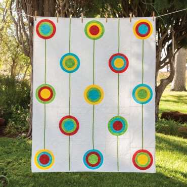 GO! Retro Circles Quilt Pattern