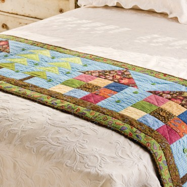 GO! Row House Bed Runner Pattern