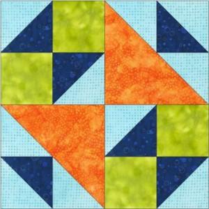 GO School Girls Puzzle No 1 8 inch Block Pattern