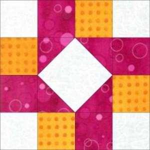 GO Susannah Variation No 1 8 inch Block Pattern