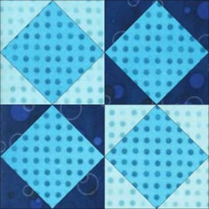 GO Triangles & Squares 8 inch quilt Block Pattern