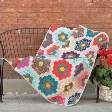 GO! Urban Flower Garden Quilt