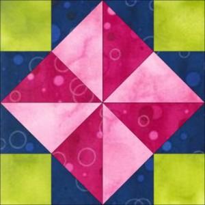 GO Windmill 8 inch Block Pattern