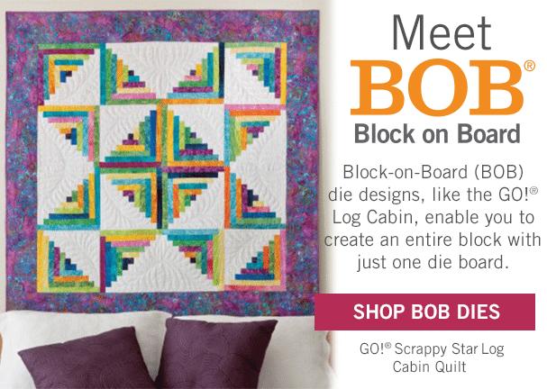 block on board quilt block