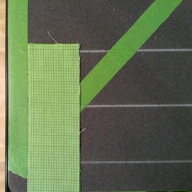 Image #1 cross cut squares