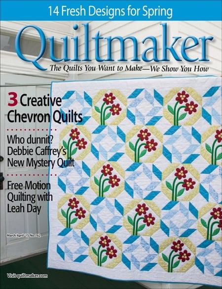 Quiltmaker Mar:Apr 2015