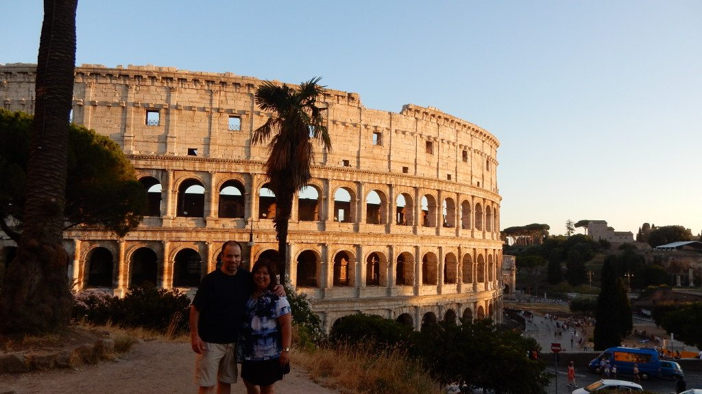 Rome with Mike