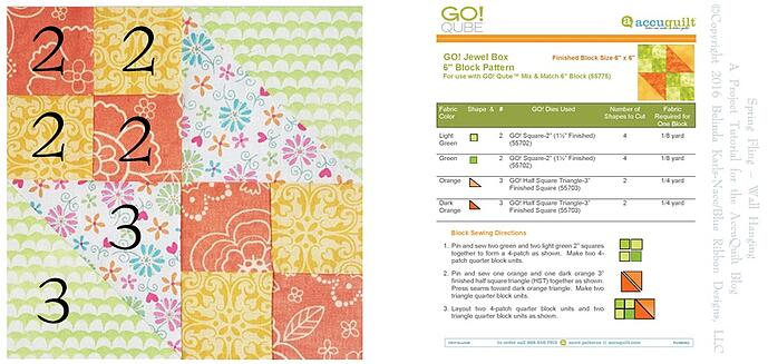 Jewel Box Quilt Block