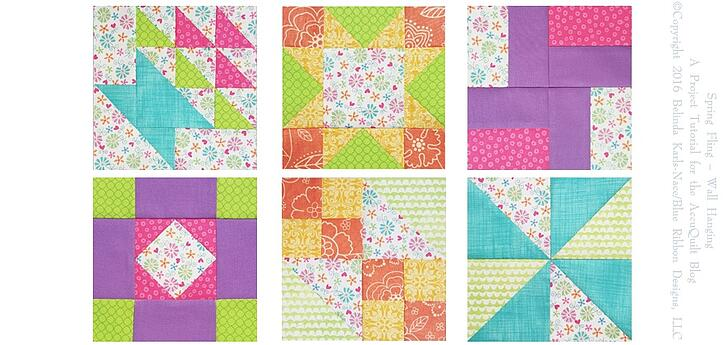Six Quilt Blocks