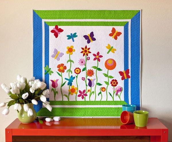 GO! Butterfly Garden Quilt Pattern