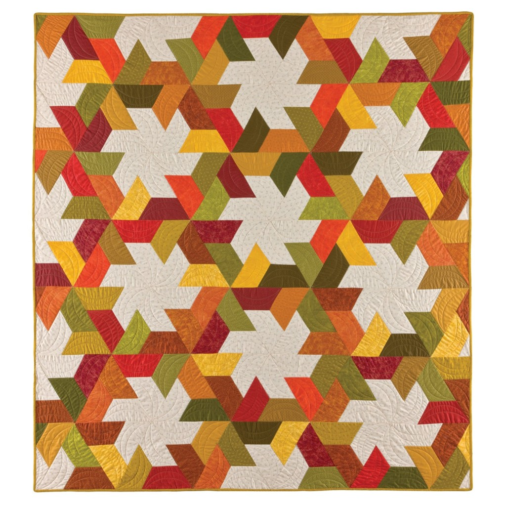 GO! Twirling Star Quilt Pattern