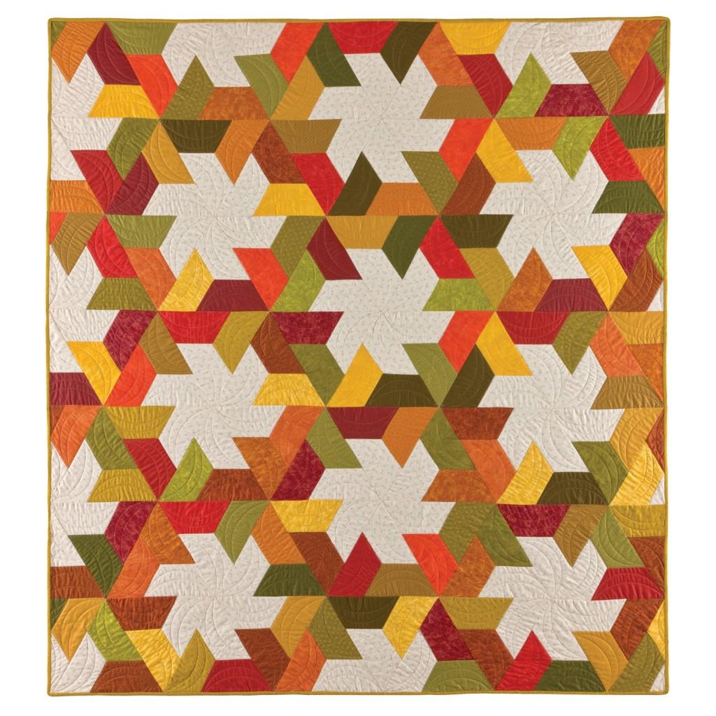 GO! Twirling Star Quilt Pattern