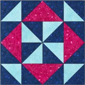 """GO! Magic Pinwheel 8"""" Free Block Pattern"""