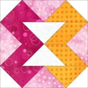 "GO! Ribbons 8"" Block Pattern"