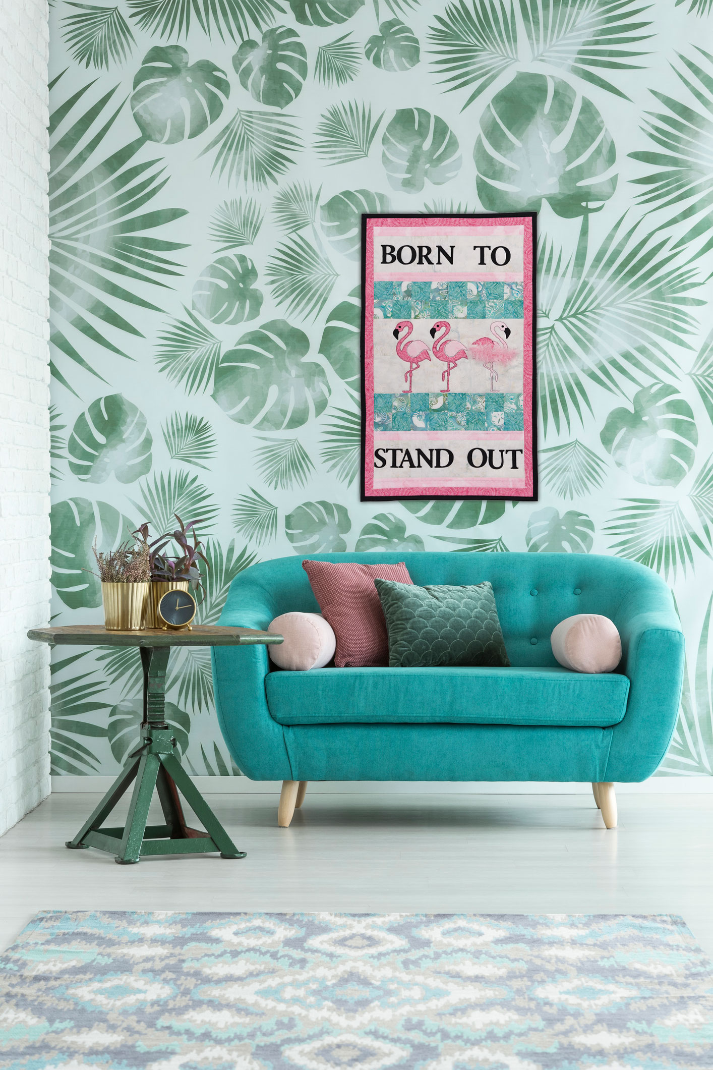 PQ11947-GO!-Born-to-Stand-Out-Wall-Hanging-Lifestyle-vert_HQ